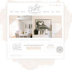 Whiskey & White Website