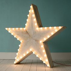 Star shaped marquee light #vintagemarqueelights #fairylights