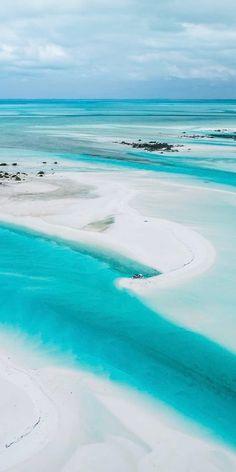 Cape Santa Maria Beach, Stella Maris, Bahamas 🌊 ------------- #caribbean #beaches #tropics #vacation #travel