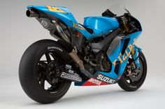 Suzuki GSVR 2011 - Not the fastest MotoGP racer but certainly the best looking