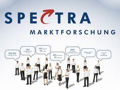 #Unternehmenspräsentation von Spectra Marktforschung  #Company #presentation Company Presentation, Spectrum, Company Logo, Logos, Things To Do, Logo
