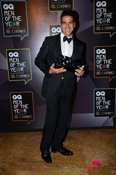Akshay Kumar Awarded  GQ India Ultimate Man Of The Year 2015