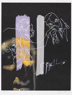 Sigmar Polke, Handkuss, 1995