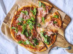 Kvásková pizza - Zo srdca do hrnca Pitta, Vegetable Pizza, Food And Drink, Bread, Vegetables, Vegetable Recipes, Pies, Breads, Vegetarian Pizza