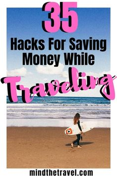 Welcome to my ultimate guide to traveling on a budget. In this post you'll find my 35 best hacks for saving money while traveling anywhere Travel Advice, Travel Guides, Travel Hacks, Travel Articles, Travel Essentials, Travel Info, Travel Stuff, Time Travel, Ways To Save Money