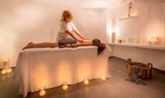Nothing is more relaxing than a Spa therapy at @Santorini Secret Suites & Spa!