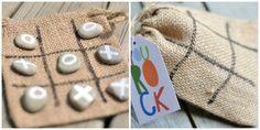 Kreuz und Kreis - Geschenktüten als Mini Geschenk