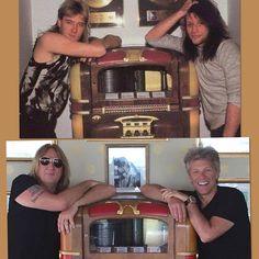 Joe Elliott and Jon Bon Jovi