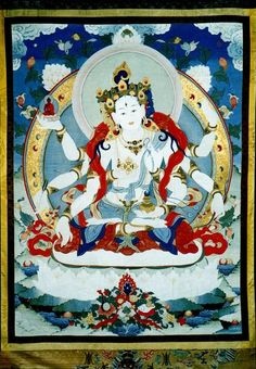 Ushnishavijaya (divinité bouddhiste) (HimalayanArt)