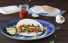 Pork Recipes : Latin Pork Soft Tacos  Recipe