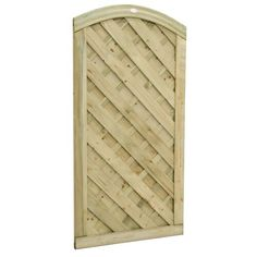 x Wood Europa Dome Gate Bel Étage Wooden Fence Panels, Picket Fence Panels, Privacy Fence Panels, Timber Gates, Wooden Gates, Balcony Shade, Garden Gates And Fencing, Fabric Structure