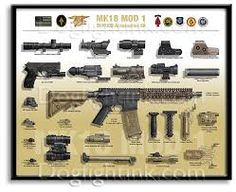 Image result for mk18 mod 1 black