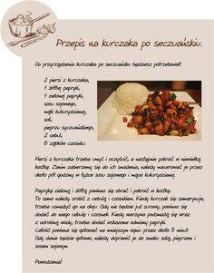 Przepis na kurczaka po seczuańsku Beef, Food, Meat, Essen, Meals, Yemek, Eten, Steak