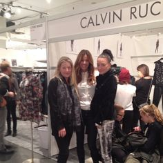 Lovely girlies hanging out! Repost @kellybensimon hanging out with Joie Rucker and Caroline Calvin t #coterie #nyc
