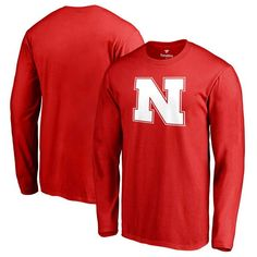 8efb12bc8 Nebraska Cornhuskers Primary Logo Long Sleeve T-Shirt - Scarlet. Nebraska  CornhuskersScarletLong SleeveMinnesota TimberwolvesBig   TallSt. Patrick s  ...