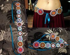Danza Tribal, Tribal Belly Dance, Tribal Fusion, Hippie Outfits, Dance Outfits, Belly Dance Belt, Tribal Costume, Belly Dance Costumes, Dance Fashion