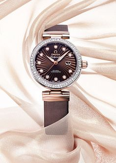 OMEGA Watches: BASELWORLD 2013 - The De Ville Ladymatic Bicolour