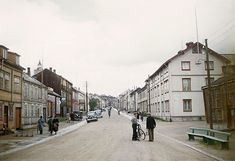 vintage everyday: Color Photos of Norway in 1948 Vintage Pictures, Cover Photos, 1940s, Norway, Street View, San, History, City, Places