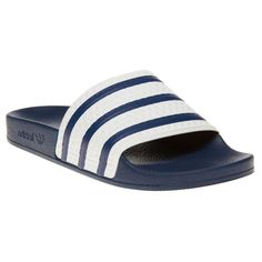 sports shoes 4389e 88964 These old school adidas adilette slider sandals are a must have holiday  essential, and also