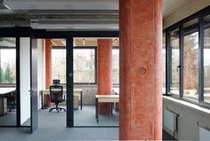 Gallery of Headquarter of POHL / Rusina Frei Architekti - 6 Built Environment, Landscape Design, Interior Design, Architecture, Gallery, Building, Home Decor, Nest Design, Arquitetura