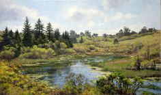 Jim McVicker Paintings: 'Winter and Spring 2013 Plein Air Paintings'
