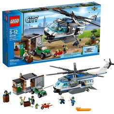 lego police helicopter instructions 60046