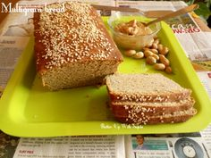 Multigrain bread. I love the aroma of freshly baked bread. A bread made with Whole wheat or atta, soyabean, sorghum or jowar, pearl millet or bajra flour and flax seed powder. If you can make your …