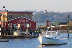 Cook's Lobster House.   Bailey Island, Maine