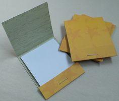 Matchbook Notebooks Stars by birddoodle on Etsy, $3.00