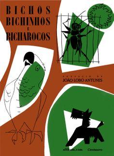 'Bicho, Bichinhos e Bicharocos', recent reprint of the 1949 edition, #book #cover by Júlio Pomar