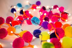 pom pom fairy lights - pompomgalore.co.uk