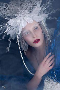 Snow Queen, Ice Queen, Headdress, Headpiece, Frost, Queens, Photoshoot, Costumes, Jewels