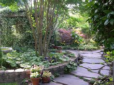 Walk with Me in My Garden ~ Photo by Melinda's Garden on Flickr .... https://flic.kr/p/H416Q ....