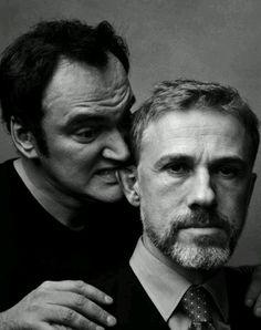 Cristoph Waltz  Quentin Tarantino