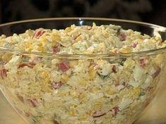 Sałatka z zupek chińskich jeszcze inaczej Calzone, Side Salad, Potato Salad, Oatmeal, Recipies, Food And Drink, Menu, Rice, Vegetables