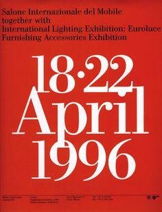 1990s Massimo Vignelli
