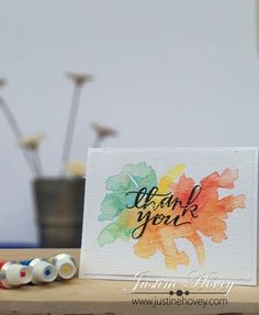 Gorgeous card by Justine Hovey for the Simon Says Stamp Blog.