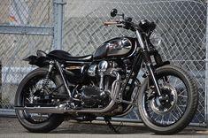 ϟ Hell Kustom ϟ: Kawasaki W800 By An-Bu