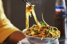 Singapore Beef & Rice Noodles