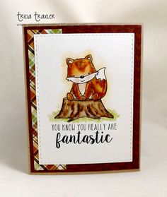 ... Simply Stamping ...: You're Fantastic