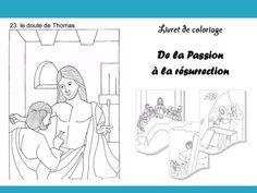 Petit livre à colorier de la Semaine Sainte à Pâques