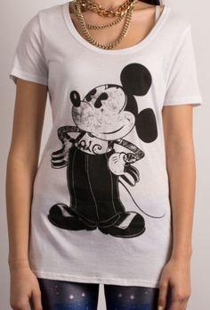 ALC tee Vintage Mickey, Tees, T Shirt, Women, Fashion, Supreme T Shirt, Moda, T Shirts, Tee Shirt