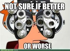 every time at the eye doctor