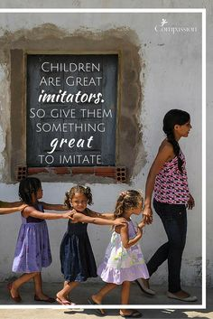 On Universal Children's Day, and every day, give the children in your life something great to imitate #childrensday