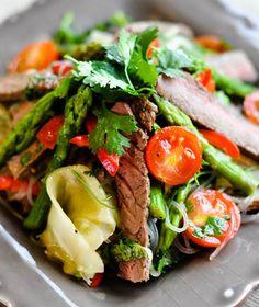 Thai Beef and Glass Noodle Salad Recipe - Saveur.com