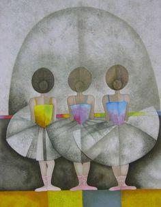 """Les Petit Rats VII"" by Graciela Rodo Boulanger. - I have this, just love it!!"