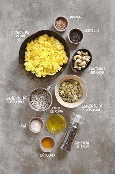 Como fazer granola salgada