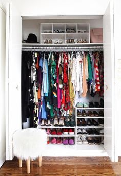 3 Inspiring Ways to Tidy Up Your Wardrobe in 2016 | WhoWhatWear UK