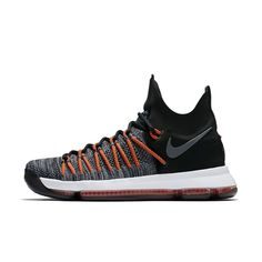 Nike Zoom KD 9 Elite Men's Basketball Shoe Size 10.5 (Black)