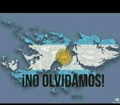 Jamas olvidaremos. Islas Malvinas. ARGENTINA.